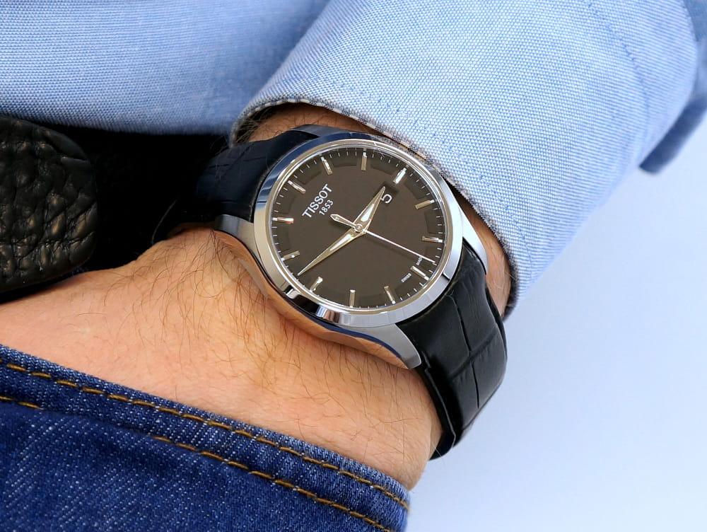 Купить реплику часов Tissot T-Classic Couturier T035627A